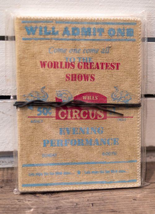 Notizblock Circus