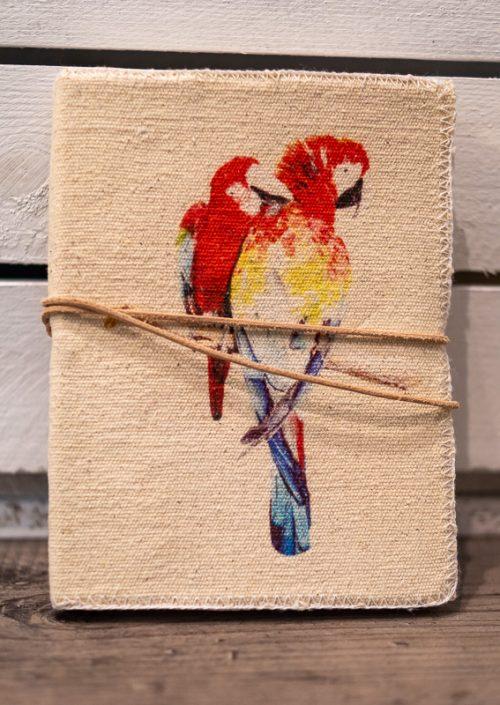 Notizblock Parrot